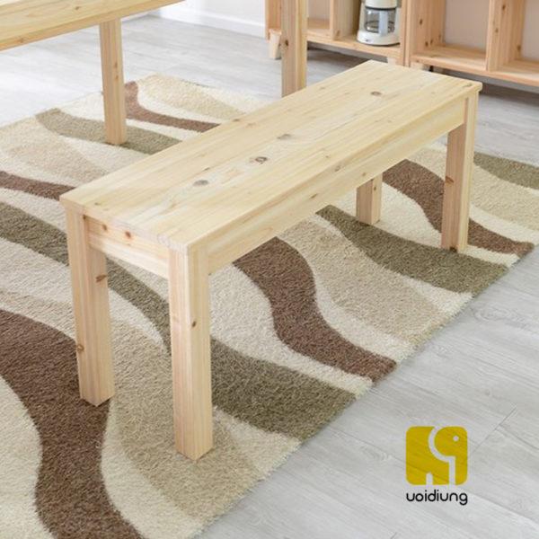 Ghế băng gỗ thông đẹp, thân thiện, chất lượng, giá tốt