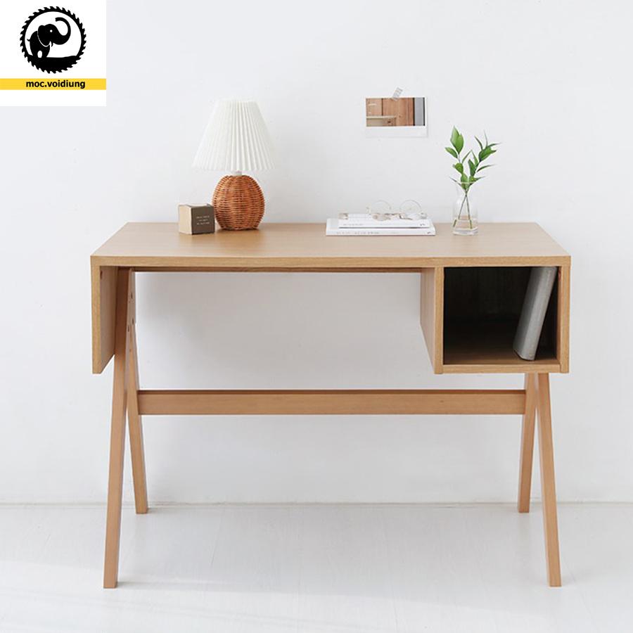 Bàn làm việc gỗ đẹp cho không gian sống thêm hoàn hảo