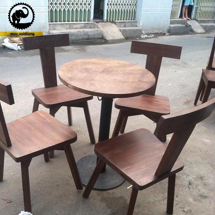 Nội thất mang phong cách gỗ tự nhiên