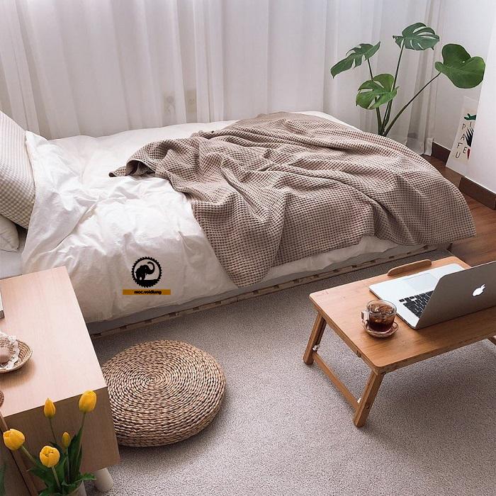 Chỉ chiếm một phần diện tích nhỏ nhưng không thể thiếu trong căn phòng của bạn