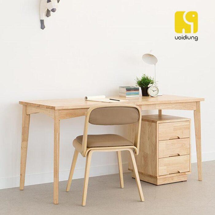 Combo bàn làm việc gỗ - BBVDU 02