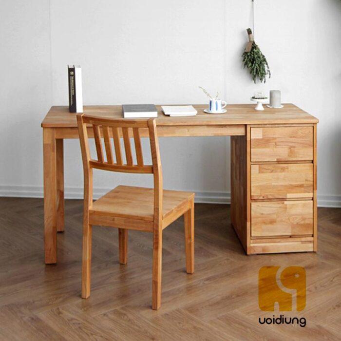 Combo bàn làm việc gỗ - BBVDU 07.