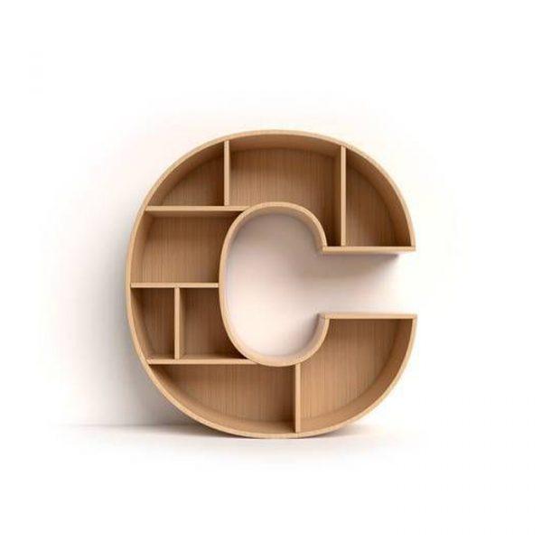 Kệ chữ C thiết kế hoàn hảo, một sản phẩm có mục đích song song.