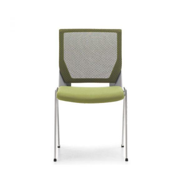 Ghế thiết kế sang trọng, hiện đại với tính năng gấp gọn, xếp chồng lên nhau rất tiện lợi giúp tiết kiệm diện tích không gian tối đa.