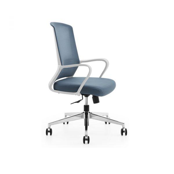 Có nhiều kiểu ghế xoay văn phòng đẹp với những màu sắc hoàn toàn tươi trẻ.