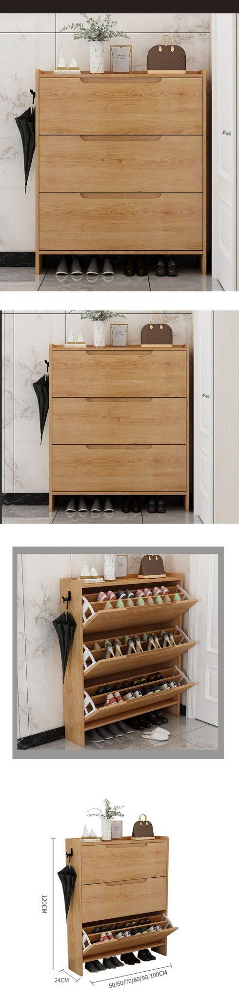 Màu sắc hài hòa không gây cảm giác khó chịu trong căn nhà, có thông khí giúp dày thoát hơi không ẩm mốc.