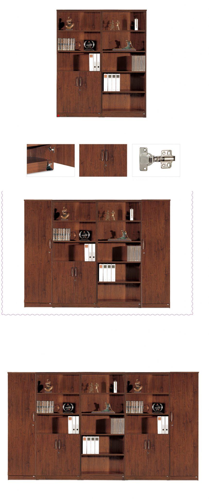 Thiết kế bắt mắt, tủ kệ xen kẽ tạo điểm nhấn thu hút sự chú ý đến sản phẩm được trưng bày.