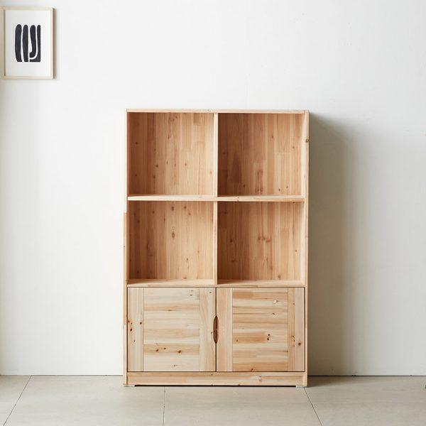 kệ trang trí gỗ KVDU16